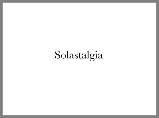 Solastalgia
