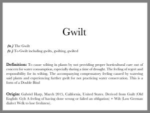 Gwilt text