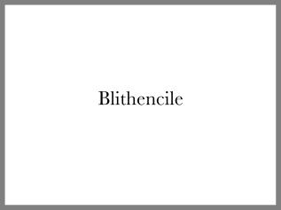 Blithencile