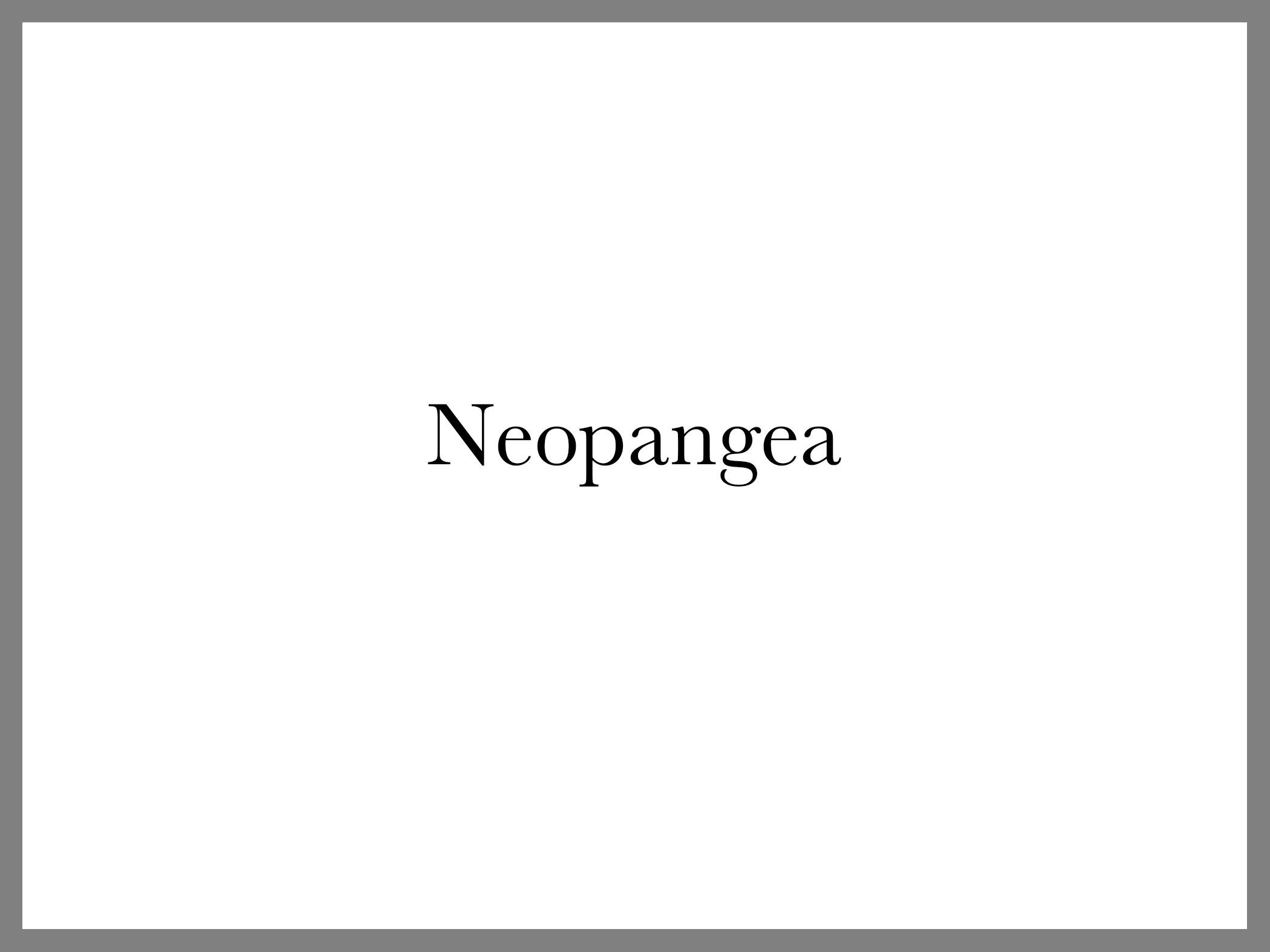 Neopangea Front